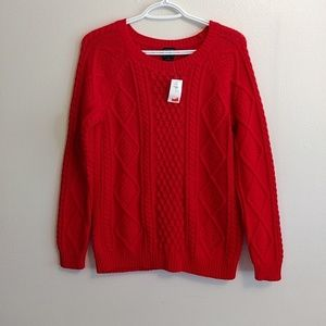 Gap cabled sweater